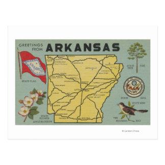 ArkansasLarge Letter ScenesArkansas Postcard