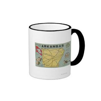 ArkansasLarge Letter ScenesArkansas Ringer Mug