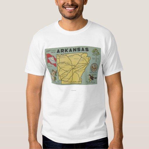 ArkansasLarge Letter ScenesArkansas T Shirt