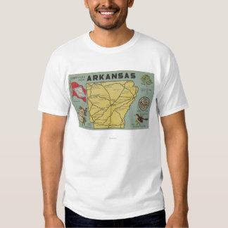 ArkansasLarge Letter ScenesArkansas Tee Shirt