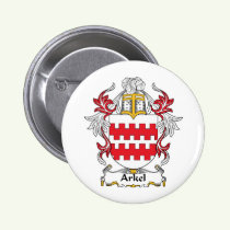 Arkel Family Crest Button