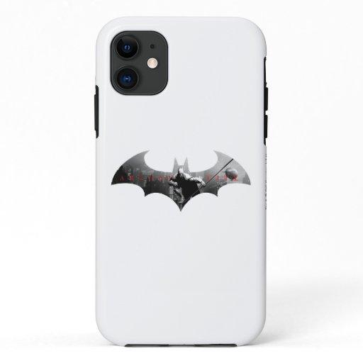 Arkham City Bat Symbol iPhone 11 Case