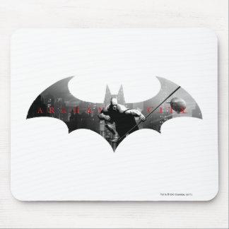 Arkham City Bat Symbol Mouse Pad