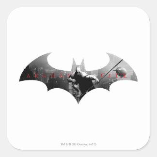 Arkham City Bat Symbol Sticker