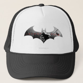 Arkham City Bat Symbol Trucker Hat