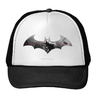 Arkham City Bat Symbol Trucker Hat
