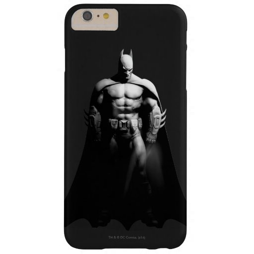 Arkham City | Batman Black and White Wide Pose Barely There iPhone 6 Plus Case