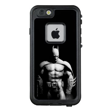 USA Themed Arkham City | Batman Black and White Wide Pose LifeProof FRĒ iPhone 6/6s Case