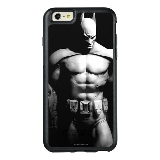 Arkham City | Batman Black and White Wide Pose OtterBox iPhone 6/6s Plus Case
