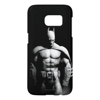Arkham City | Batman Black and White Wide Pose Samsung Galaxy S7 Case