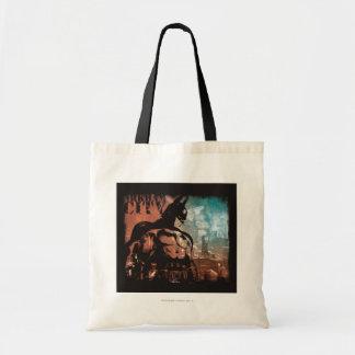 Arkham City Batman mixed media Bags