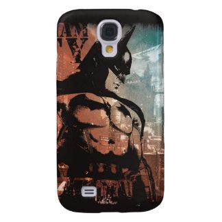 Arkham City Batman mixed media Galaxy S4 Covers