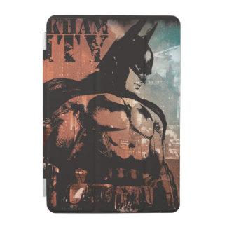 Arkham City Batman mixed media iPad Mini Cover
