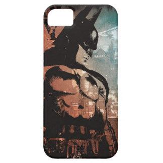 Arkham City Batman mixed media iPhone 5 Cover