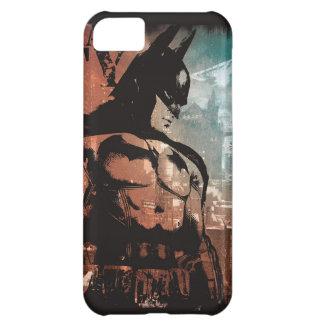 Arkham City Batman mixed media iPhone 5C Cases