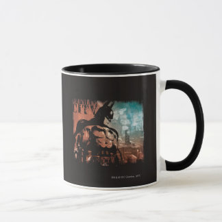 Arkham City Batman mixed media Mug