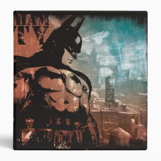 Arkham City Batman mixed media Vinyl Binders