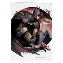 Arkham City Batman Moon Card