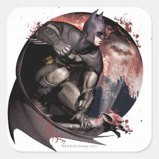 Arkham City Batman Moon Sticker