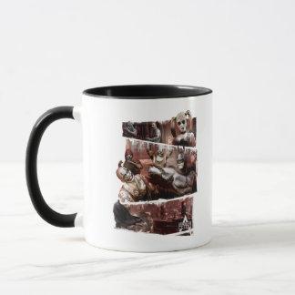Arkham City Characters Trifold Mug
