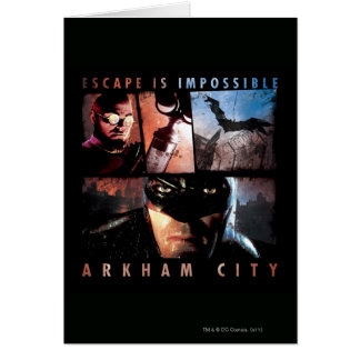 Arkham City Escape is Impossible Card