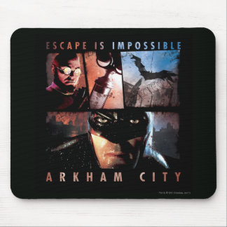 Arkham City Escape is Impossible Mouse Pad