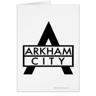 Arkham City Icon Card
