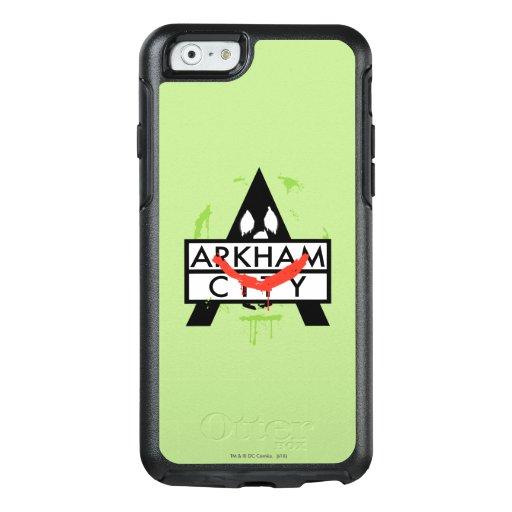 Arkham City Icon w/ Joker marks 2 OtterBox iPhone 6/6s Case