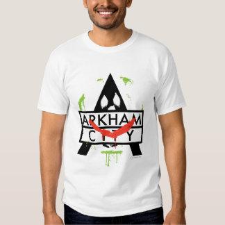 Arkham City Icon w/ Joker marks 2 Shirt