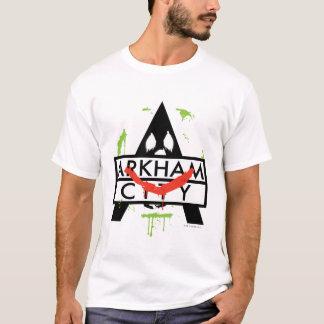 Arkham City Icon w/ Joker marks 2 T-Shirt