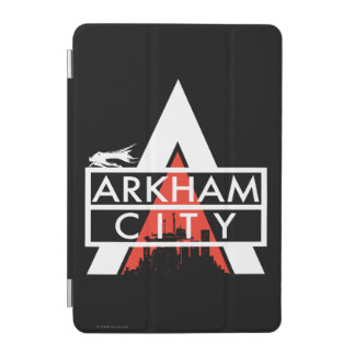 Arkham City Logo White iPad Mini Cover