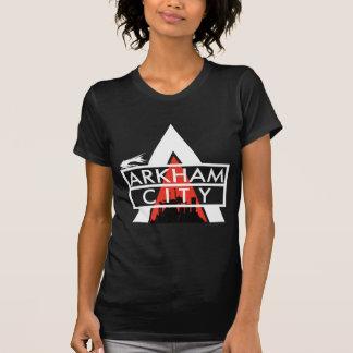 Arkham City Logo White T-Shirt