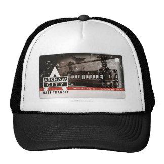 Arkham City Mass Transit Pass Trucker Hat
