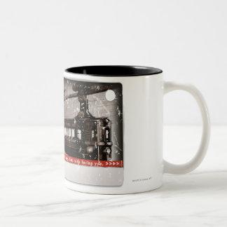 Arkham City Mass Transit Pass Two-Tone Coffee Mug