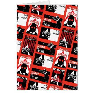Arkham City Propaganda Pattern Card