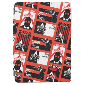Arkham City Propaganda Pattern iPad Air Cover