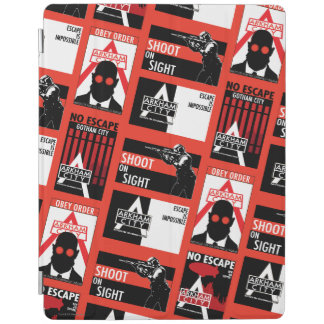 Arkham City Propaganda Pattern iPad Smart Cover