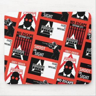 Arkham City Propaganda Pattern Mouse Pad