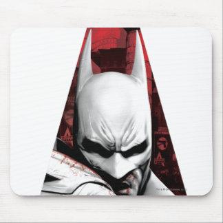 Arkham City Triangle Mouse Pad