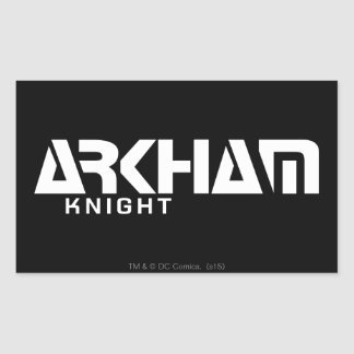 Arkham Knight Graphic Rectangular Sticker