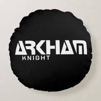 Arkham Knight Graphic Round Pillow