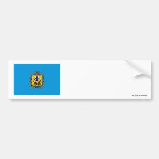 Arkhangelsk Oblast Flag Bumper Sticker