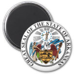 Arkinsas State Seal and Motto Fridge Magnets