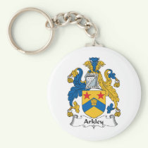Arkley Family Crest Keychain