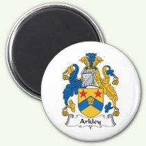 Arkley Family Crest Magnet