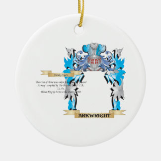 Arkwright Coat Of Arms Christmas Ornament