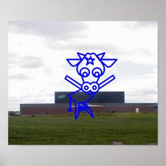 Arla Cow Poster