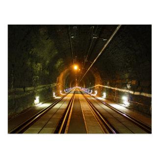 Arlberg Tunnel at km 104.8 Postcard