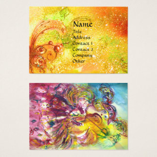 ARLECCHINA Violin Player ,Music,Theater Artist, Business Card