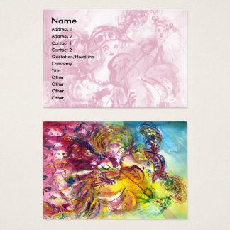 ARLECCHINA VIOLINIST,Violin ,Music,Theater Artist, Business Card
